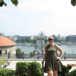 Kristen in Budapest