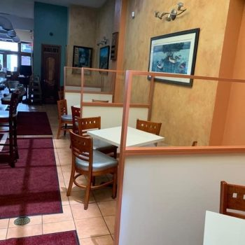Cafe Manolin offers a casual place to eat.