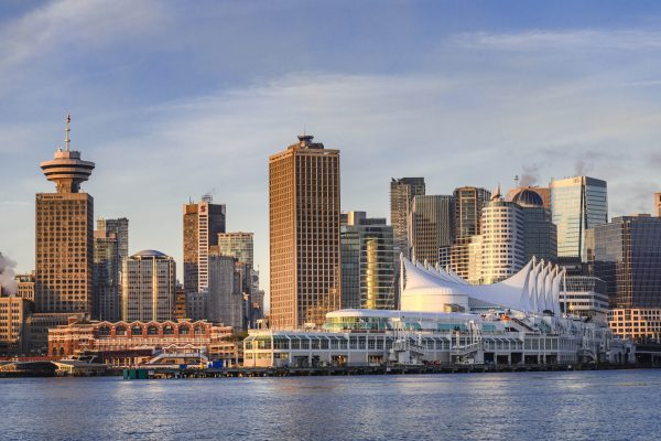 Photo by John Sinal. Vancouver from the water.