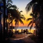 Sunset in Caye Caulker