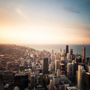 Chicago, where Sam lived before relocating to Dublin