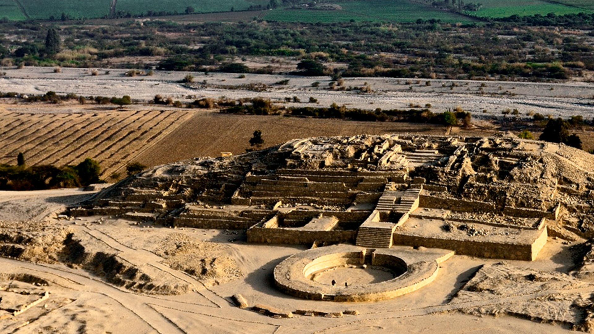 The Citadel of Caral, one of the best things to do in Peru.