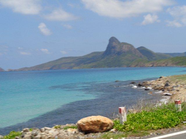 Coastal view in Con Dao