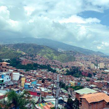 The vista of Comuna 13