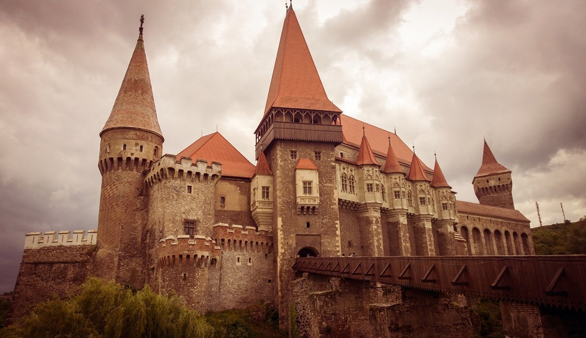 Count Dracula's Castle in Romania building chateau castle landmark