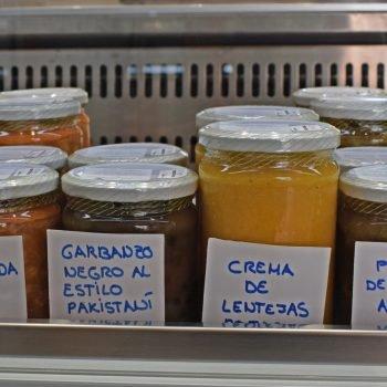 Cucharas del Mundo's spice rack