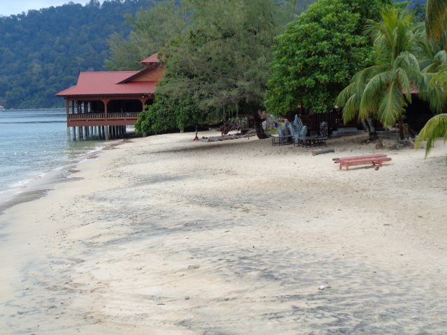 The beach at Air Batang