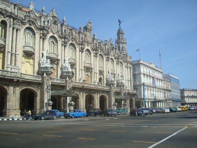 A photo of Havana's streets.