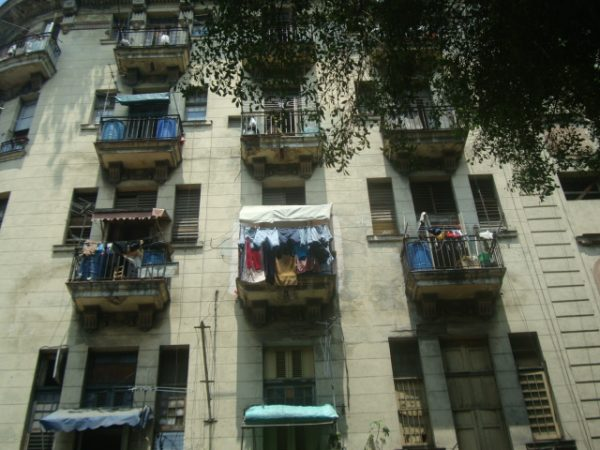 Laundry Day in Havana, Cuba