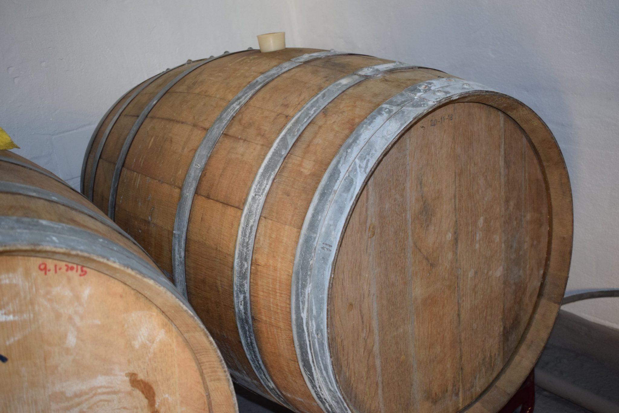 Barrels of cider