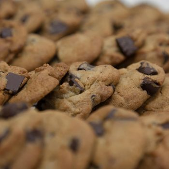 Chocolate Chip Cookies from David's cookies, one of the best places to eat in San Juan