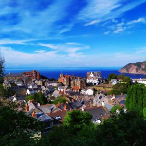 The quaint city of Devon, one of the best places to visit in the summer.