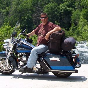 Ed Gagnon, Canadian author, on the Dragon's Tail in Tennessee
