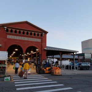 An early Saturday morning at the Eastern Market in Metro Detroit.