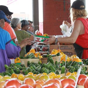 Tuesday's market at Eastern Market in metro Detroit.