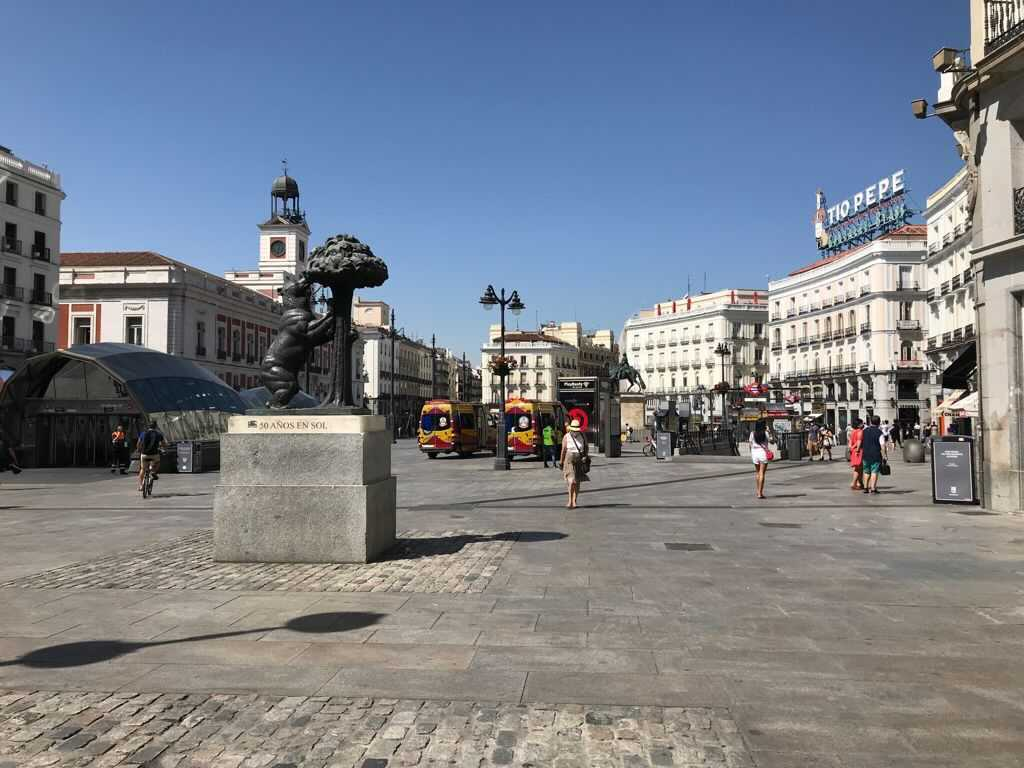 Edgar in Madrid