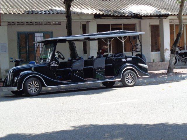 An Elephant Taxi