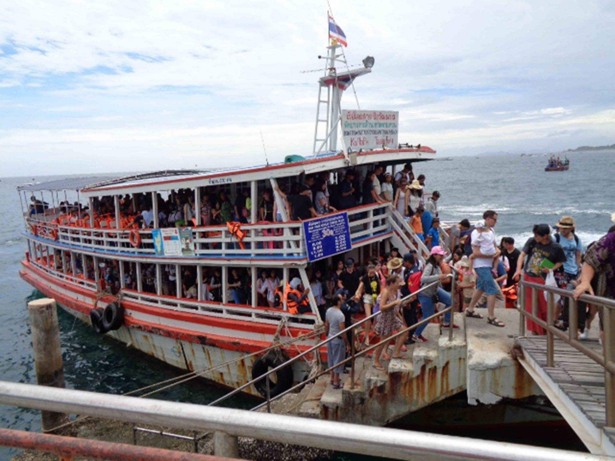 Ferry to Thailand mainland