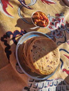 Food in Sainjh Valley
