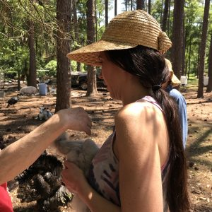 After living abroad, Leesa visited the rural parts of Tallahassee.