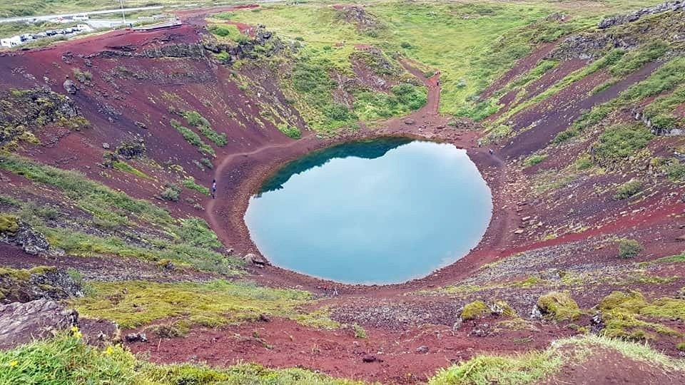 Golden Circle lake