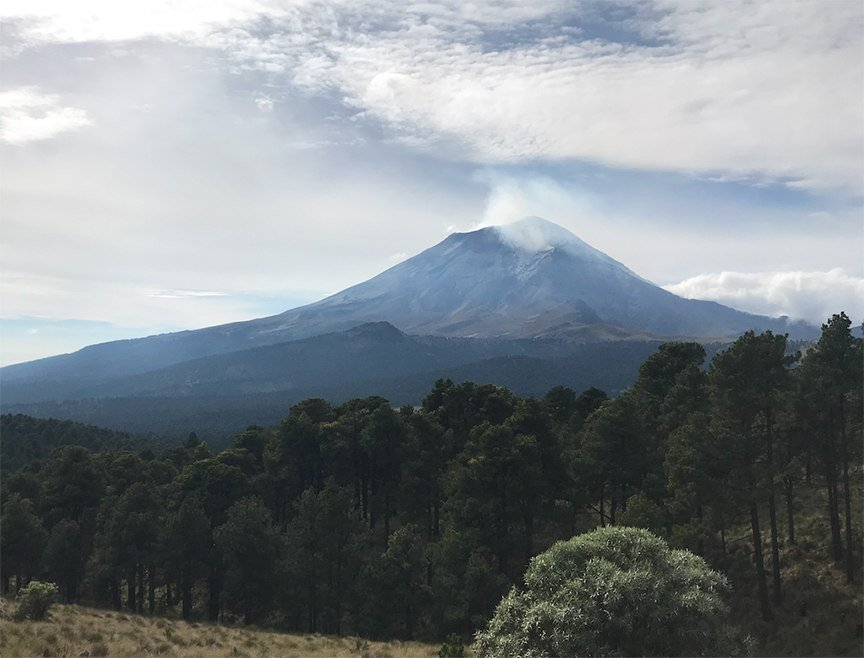 Hiking the Iztaccihuatl Volcano in Mexico