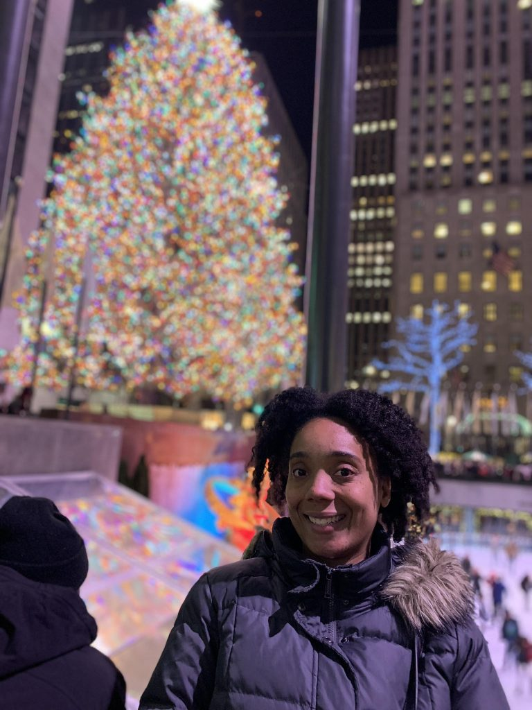 Timisha spends the holidays abroad