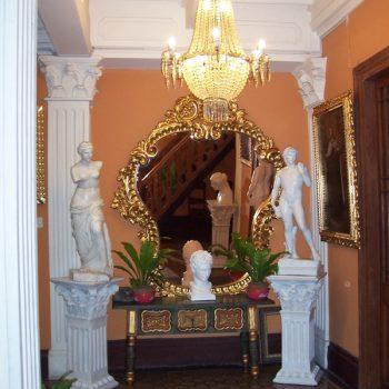 The gorgeous lobby of Hotel Espana.