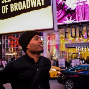 Orlando Lewis showing a benefit of studying abroad in NYC