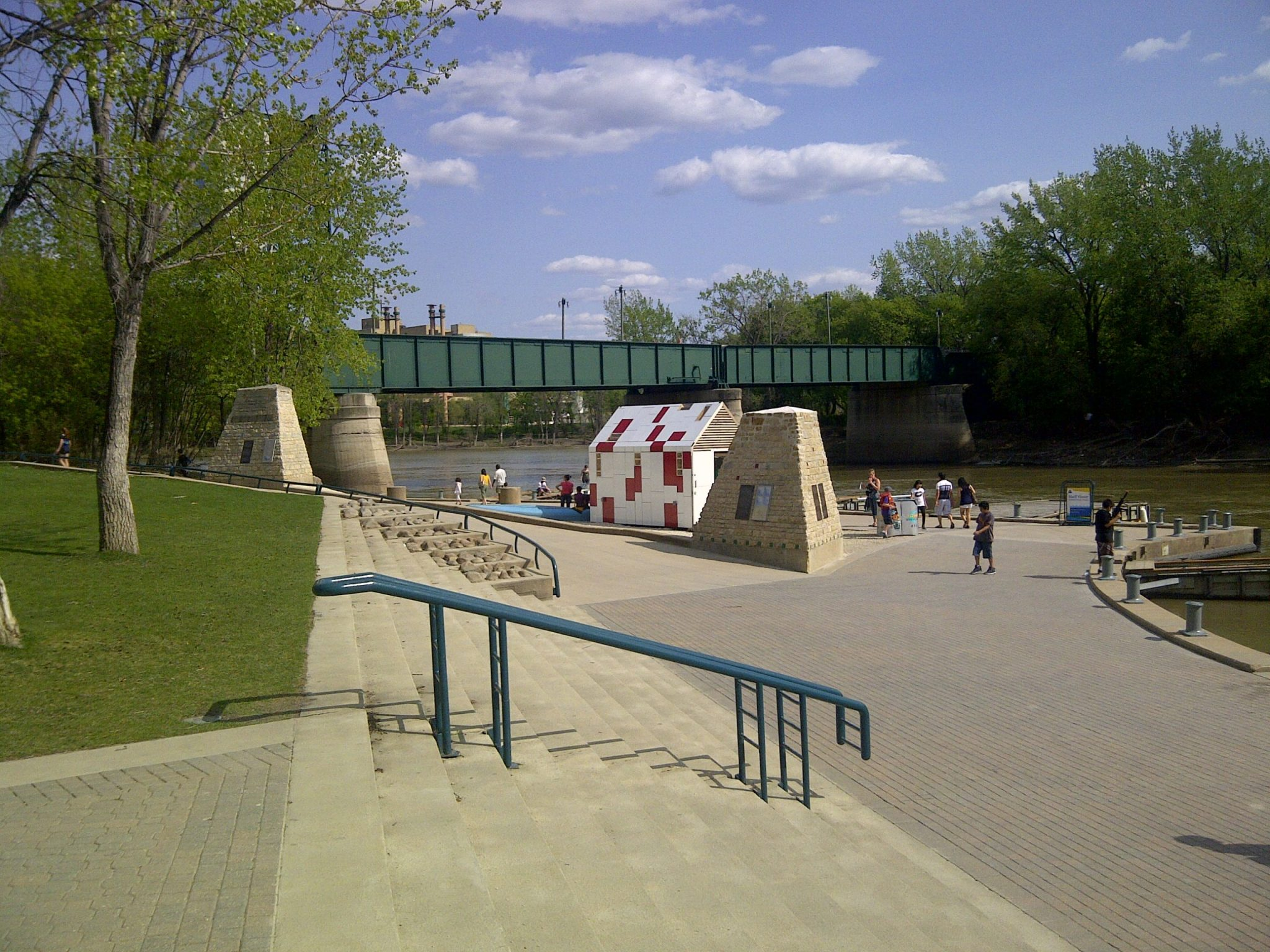 Visiting the Forks is one of the best things to do in Winnipeg