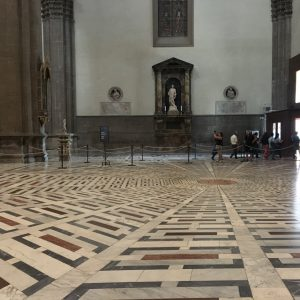 Inside of the Florence Cathedral