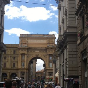 An archway in Florence