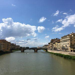 The river that runs through Florence