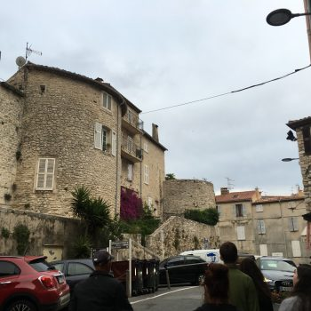 Antibes from the street