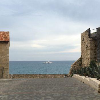 A Yacht on the Mediterranean