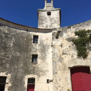 The inner wall of Fort Carre