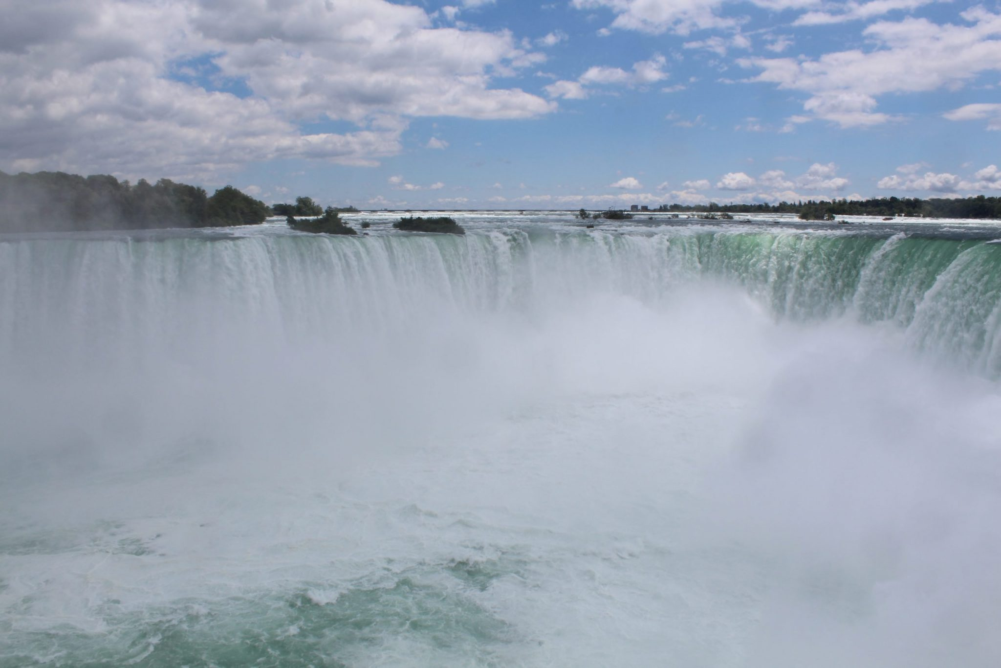 A photo of Horseshoe Fall