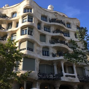 The crazy architecture in Barcelona during our Euro Tour