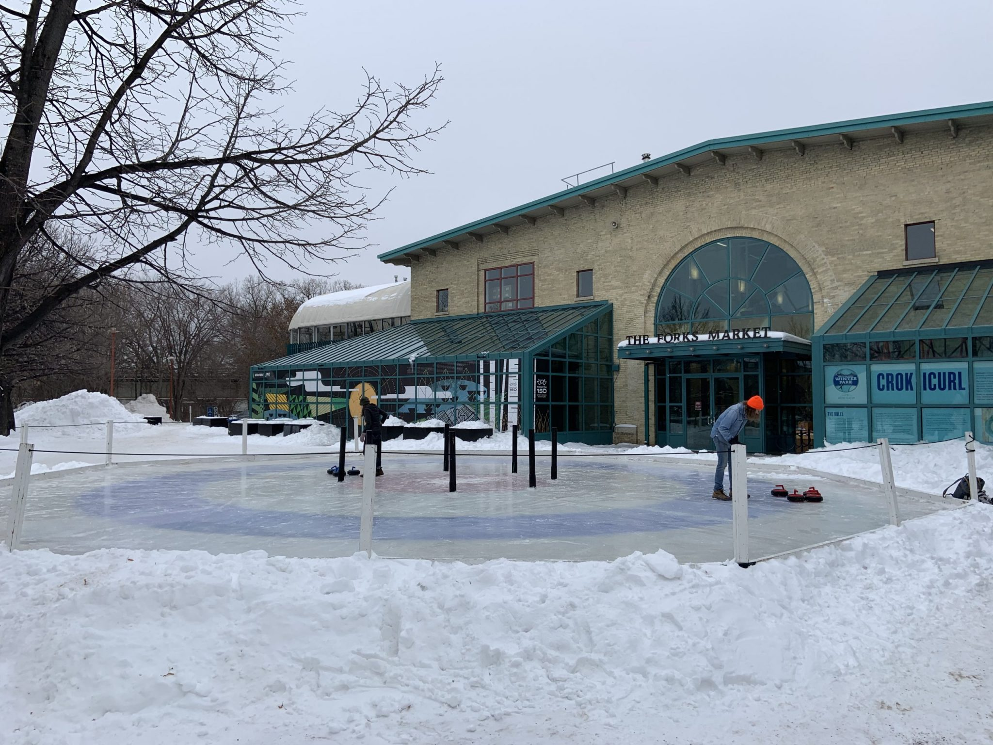 Ice skating is always a favorite of things to do in Winnipeg