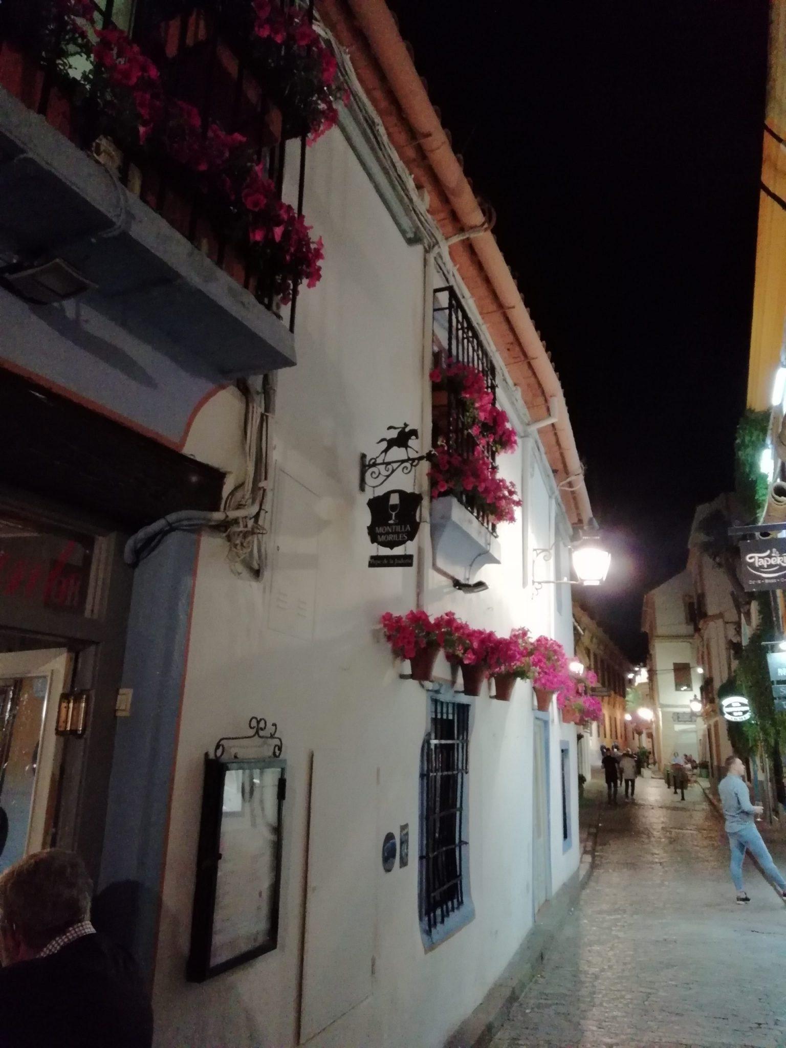 Calleja con flores Córdoba España.