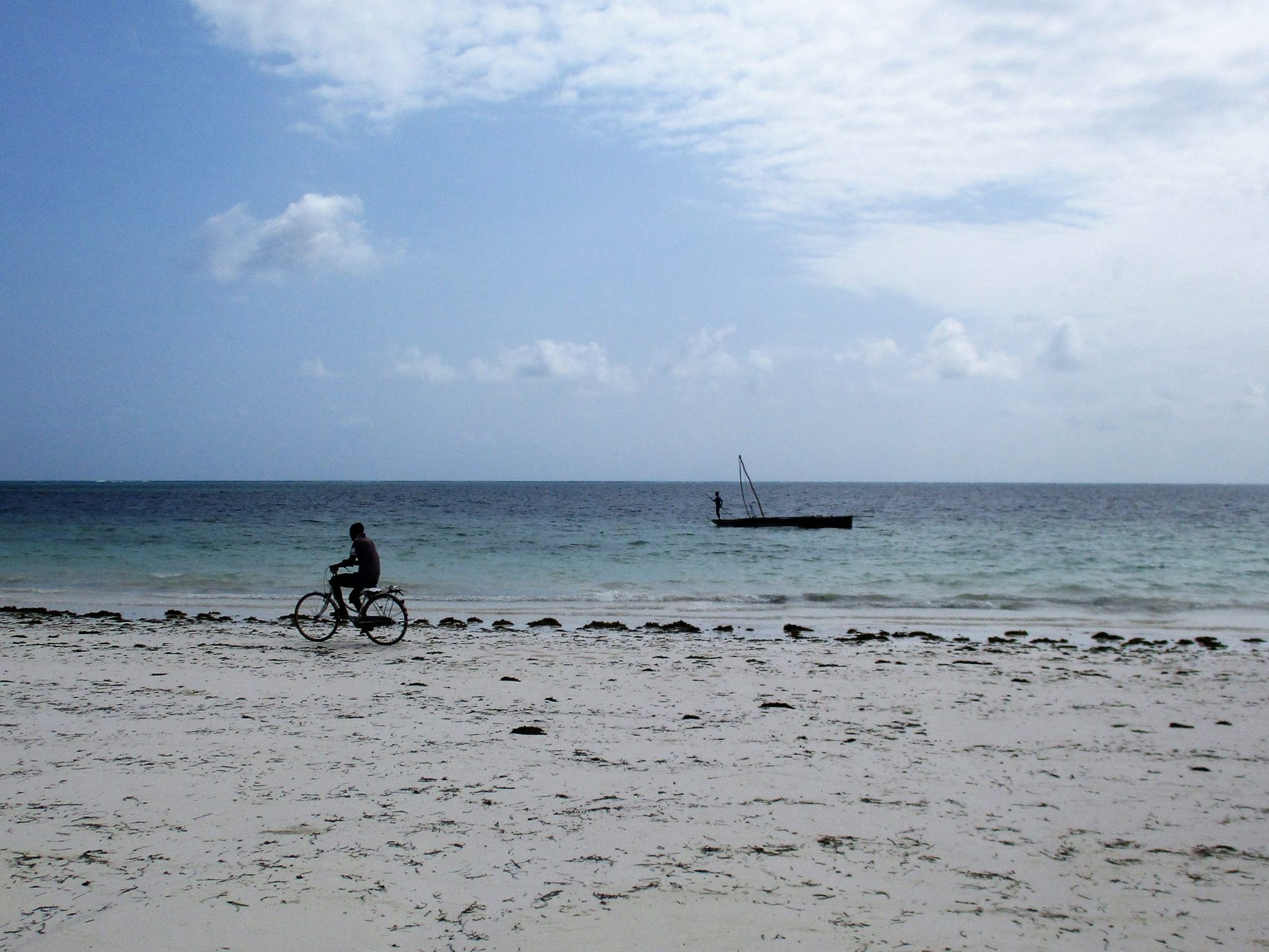 A photo of the beach