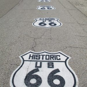 Historic US Hwy 66.