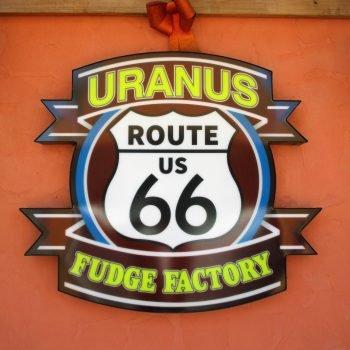 Route 66 Fudge Factory in Uranus.