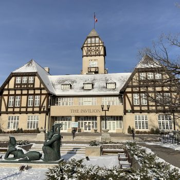 The Assiniboine Park Pavilion looks like a Bavarian Lodge, which is one of the most architecturally exciting things to do in Winnipeg