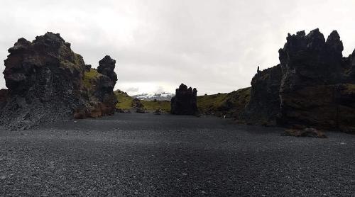 Iceland rocks and westfords