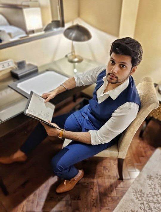 Indian lifestyle blogger Mritunjai Rai