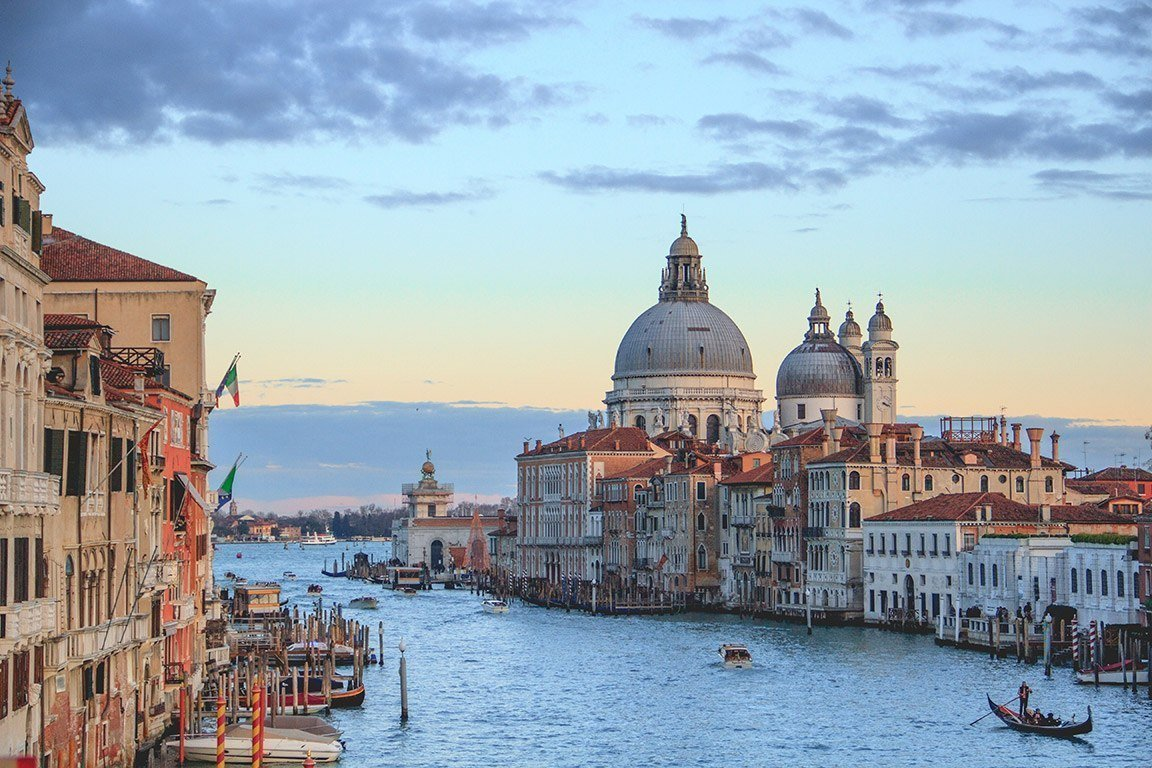 Italy photo on the water