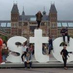 Kate Clark I Amsterdam Statue
