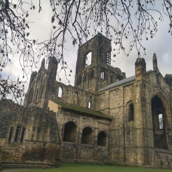 Kirkstall Abbey in Yorkshire.