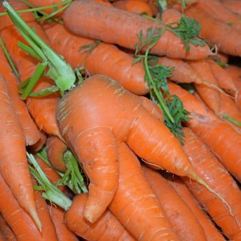 La Zanahoria's fresh carrots as part of the vegan canary islands guide